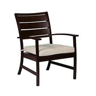 Charleston Euro Lounge Chair with Cushion by Summer Classics