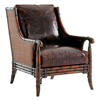 Tommy Bahama Las Palmas Leather Chair