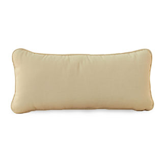 Club Teak Bolster Pillow by Summer Classics