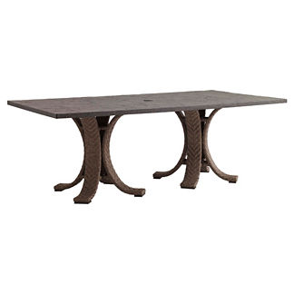 Tommy Bahama Blue Olive Rectangular Dining Table