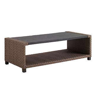 Tommy Bahama Blue Olive Rectangular Cocktail Table