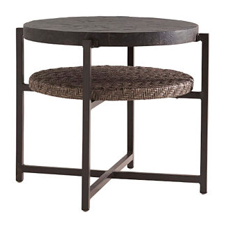 Tommy Bahama Blue Olive Round End Table