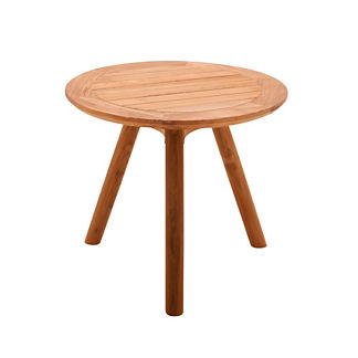 Dansk Teak Round Side Table