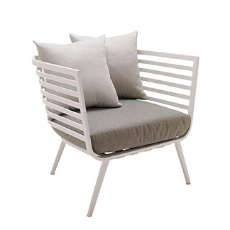Vista Lounge Chair with Cushions by Gloster