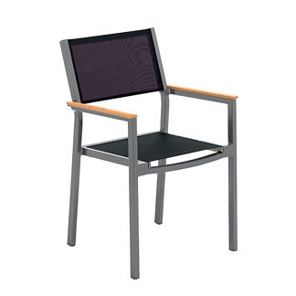 Luna Stacking Arm Chair