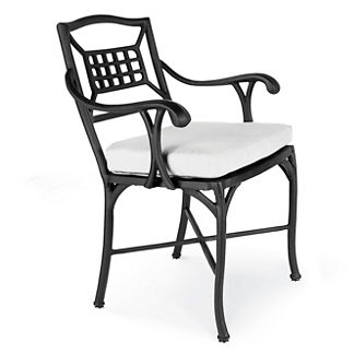 Catalina Aluminum Dining Arm Chair