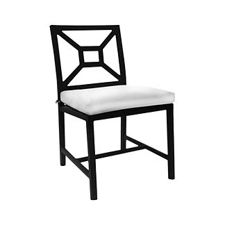 Milano Aluminum Dining Side Chair