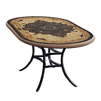 Almirante Oval Bistro Table