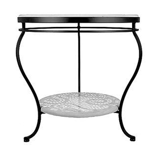 Malibu Double-Tiered Side Table
