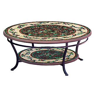 Finch Round Double-Tiered Coffee Table