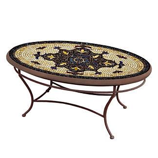 Almirante Oval Coffee Table