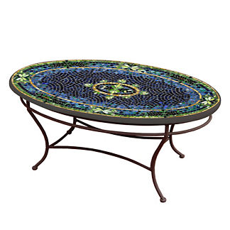 Lake Como Oval Coffee Table