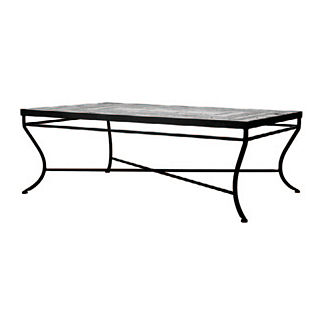 Black Olives Rectangular Coffee Table