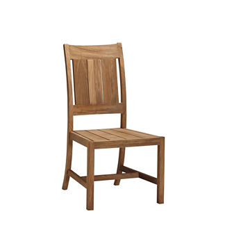 Croquet Teak Side Chair by Summer Classics
