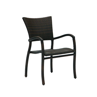 Skye Dining Arm Chair with Cushion by Summer Classics