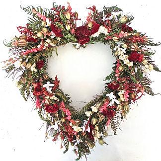 Everlasting Heart Wreath