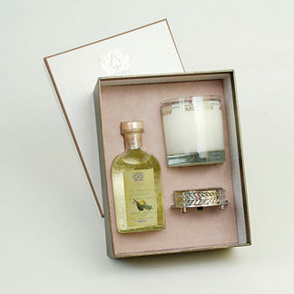Antica Farmacista Lemon Verbena Diffuser & Candle Set