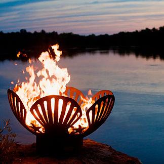 Barefoot Beach Fire Pit by Firepit Art