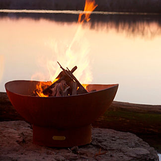 Scallops Fire Pit by Firepit Art