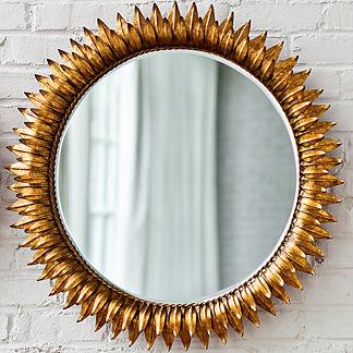 Round Sun Mirror