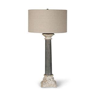 Zinc Capital Table Lamp