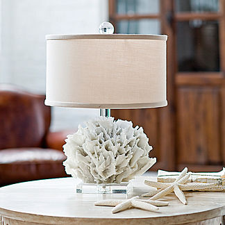 Ribbon Coral Table Lamp