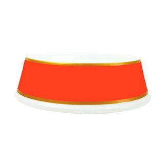 Porcelain Pet Bowl in Solid Colors