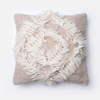 Shag Diamonds Throw Pillow