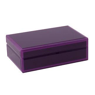 WOLF Glass Jewelry Box