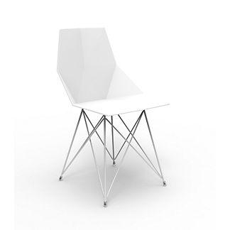 Vondom Faz Chair with Stainless Base