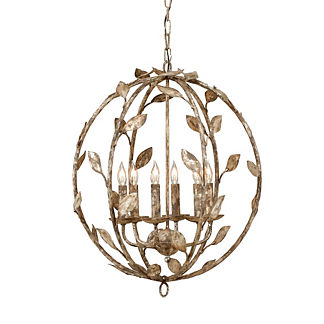 Botanical Leaf Chandelier