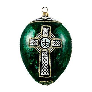 The Celtic Egg Ornament