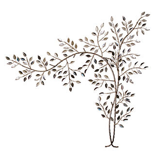 Sterling Hedgerow Outdoor Wall Sculpture