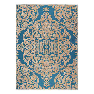 Monroe Medallion Outdoor Area Rug