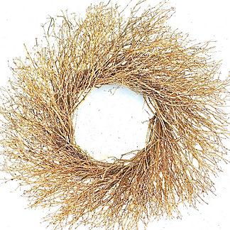 Metallic Twig Wreath