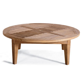 Hyde Park Teak Chat Table Cover
