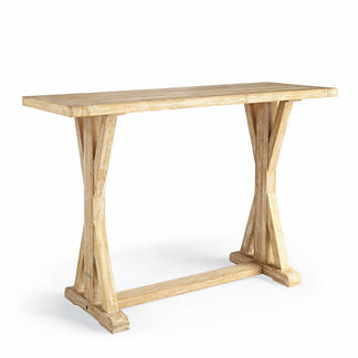 Hyde Park Washed Teak Console Table Cover