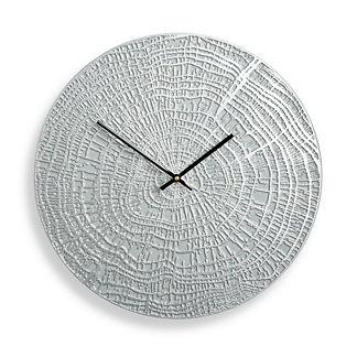End Grain Contemporary Clock by Porta Forma