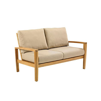 Oyster Reef Loveseat with Cushions