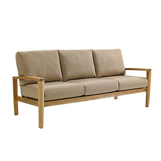 Oyster Reef Sofa with Cushions