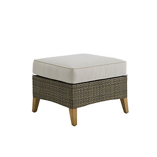 Pepper Marsh Ottoman with Cushion by Gloster