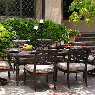 Tommy Bahama Black Sands Rectangular Dining Table