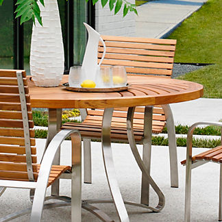Tommy Bahama Tres Chic Round Dining Table
