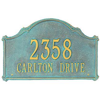 Carlton Wall Plaque