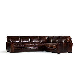 Rex Leather Sectional