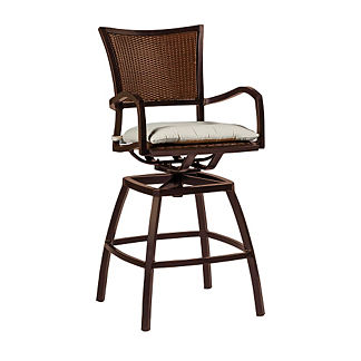 Aire Swivel Bar Stool with Cushion