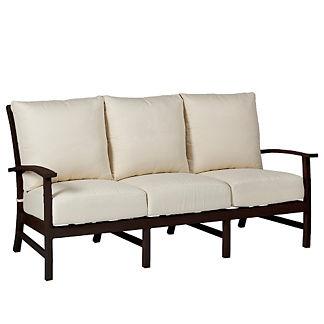Charleston Sofa with Cushions by Summer Classics