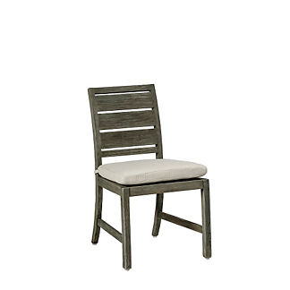 Charleston Teak Side Chair with Cushion by Summer Classics
