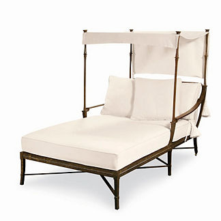 Andalusia Double Chaise Canopy