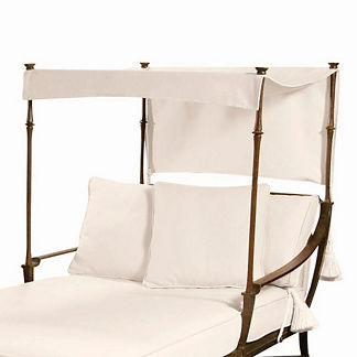 Andalusia Chaise Canopy